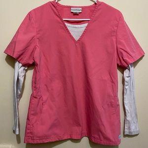Peaches Uniforms Women's size Small Scrub Top
